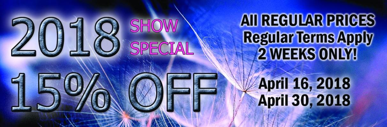 2018 Show Special