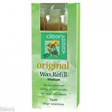 Clean & Easy Original Wax Refill - Medium 3pk