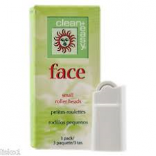 Clean & Easy Small (Face) Roller Heads 3pk