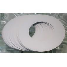 Clear Line Wax Collars 50pk