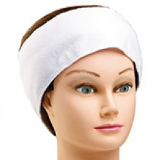 Stretch Terry Headband White